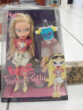 "New Bratz Doll Feelin' Pretty Blonde hair, extra clothes shoes MGA 9.5"" Cloe"