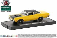 1:64 M2 Machines DRIVERS R38 = Yellow 1969 Plymouth Road Runner 440 *NIP*