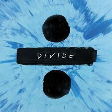 ED SHEERAN DIVIDE ÷ CD (STANDARD EDITION) - PRE RELEASE 3RD MARCH 2017