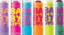 Maybelline Baby Lips Original Set 6 LOT 05 10 15 20 25 30 Lip Balm Red Pink