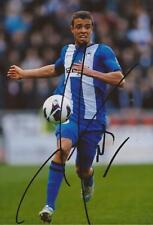 WIGAN: FRANCO DI SANTO SIGNED 6x4 ACTION PHOTO+COA