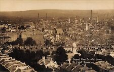 POSTCARD   BRISTOL   General  View  from  Cabot  Tower