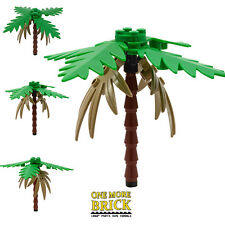 LEGO Deluxe Palm Tree - Single palm tree - Custom/Rare brown hanging leaves
