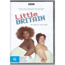 DVD LITTLE BRITAIN THIRD SEASON 3 COMPLETE 2-Disc TV BBC Sketch Comedy R4 [BNS]