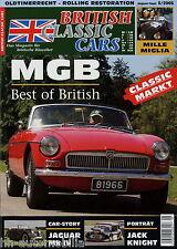 British Classic Cars 5 05 2005 Jaguar Mk IV MGB Swallow Doretti Jack Knight Talb