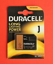 DURACELL Security J Size/7K67/539/ 6V Alkaline Battery for Security Devices NEW