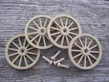 WAGON & CANNON WHEELS - 2½  Inch Diameter MDF scale toy