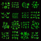 Removable Wall Fluorescent Glow In The Dark Stickers Kid Bedroom Room Luminous