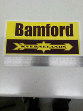 Bamford Kverneland plough decal