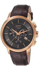 Esprit Collection Herrenuhr Crius Chrono Rose Gold Brown EL101961F04 Analog Chro