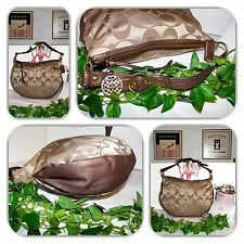 COUTURE COACH KHAKI LARGE PURSE/HOBO/HANDBAG!