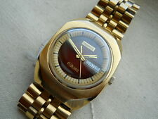 NEW OLD STOCK,RARE VINTAGE,1974 HUGE BENRUS TECHNIQUARTZ, QUARTZ MOVEMENT,GP/SS.