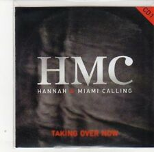 (DL295) Hannah & Miami Calling, Taking Over Now - 2011 DJ CD
