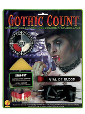 Gothic Count Makeup Kit Vampire Fantasy Dress Up Halloween Costume Accessory