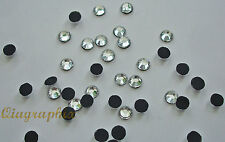 4 x 1440 Pcs  Iron On Hotfix Crystal Clear Rhinestones SS16, Grade A , GA16A