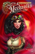 LADY MECHANIKA TABLET OF DESTINIES #4 BLUERAINBOW L/E 500 BENITEZ MCTEIGUE NM