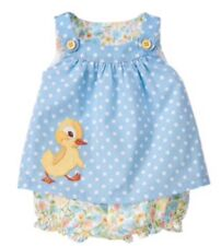 NWT GYMBOREE Golden Books Fuzzy Duckling Floral Outfit Set Girls 3-6 M Htf