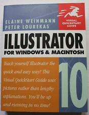 Book ILLUSTRATOR 10 For Windows and MacIntosh Textbook Software Guide
