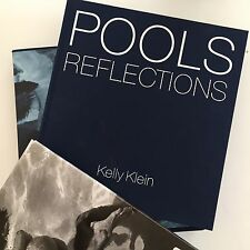 NIB Sealed POOLS REFLECTIONS by KELLY KLEIN w BRUCE WEBER T-SHIRT Signed Copy