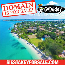 SIESTA KEY FOR SALE .COM - Real Estate - Florida Beach - Domain Name - GoDaddy