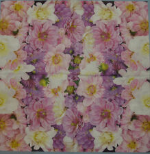 PAPER TABLE NAPKINS FLOWERS CHRYSANTHEMUM  FOR CRAFT DECOUPAGE TEA PARTIES 157