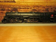 HO BROADWAY LIMITED N&W 2-6-6-4 STEAM LOCO & TENDER DC/DCC BLUELINE #1214 NIB