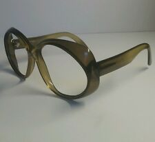 Vintage Bausch & Lomb B&L Ray-Ban Eyeglass Glasses Frames Oversized Bryce-Optyl
