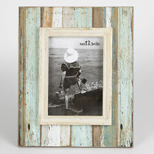 "Coastal Chic Shabby Driftwood Standing Photo Rectangle Frame 7'x 5"" photos"