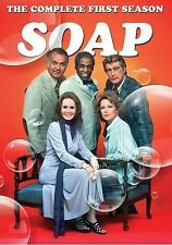 SOAP:  THE COMPLETE FIRST SEASON-SEASON 1-NEW/SEALED-F/S REGION 1 DVD-25 EPISODE