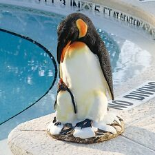 Antarctica Penguins Mother and baby Sculpture Statue for Home or Garden