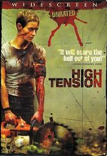 High Tension ~Maiwenn Le Besco Cecile de France ~ Unrated DVD WS ~ FREE Shipping