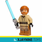 LEGO STAR WARS Clone Jedi General Obi Wan Kenobi Minifig (New Costume Version)