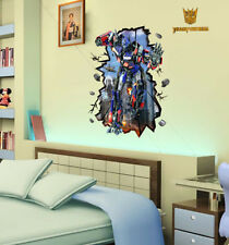 Transformers Optimus Prime adhesivo pared Habitación niños decoración grande
