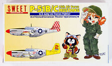 Sweet Aviation 18 U.S. Army Air Forces Fighter P-51B/C Mustang 1/144 Scale Kit