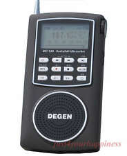 Degen DE1126 receiver DIGITAL DSP AM FM MW SW radio MP3 récepteur mondial