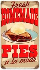 Vintage Retro Homemade Pies Metal Sign Cafe Shop Restaurant Diner Decor RPC117