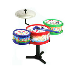 Musical Instruments Children Toy Kids Drum Kit Set Colorful Plastic Drum