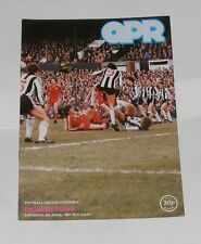Queens Park Rangers -v- Grimsby Town 1980-1981
