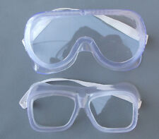 Eye Protection Protective Lab Anti Fog Clear Goggles Glasses Vented Safety