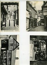 4 Photo Postcards - Evesham, England