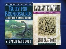 Stephen Jay Gould- LOT OF 2 NATURAL HISTORY BOOKS- TPB