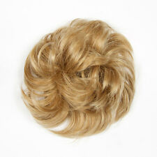 I&K Hair Piece Ultimate Scrunchie Scrunchy Bun Updo Blonde Brown Black