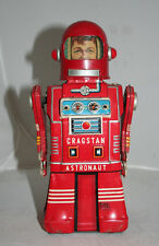VINTAGE1950S RED SKIRTED RED CRAGSTAN ASTRONAUT BY KO YONEZAWA BOY FACE VERSION