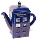 NEW Dr Who TARDIS Ceramic Teapot Tea Pot 750ml - 11th Doctor Matt Smith Amy Pond