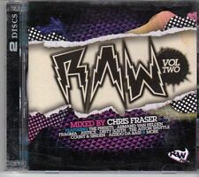 (DV989) Raw, Vol 2 mixed by Chris Fraser, 36 tracks various artists - 2008 CDs