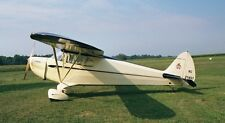 Piper J-4 Cub Coupe Private Owner Aircraft Mahogany Wood Model Small New