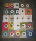 """50 DJ PROMO 7"""" 45 Lot 70s & 80s ROCK POP R&B SOUL COUNTRY COLLECTION ALL LISTED"""