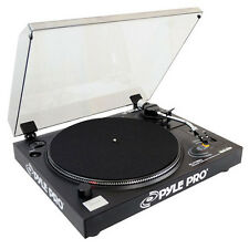 Pyle PLTTB3U Belt Drive USB Turntable with Software