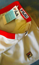 SHORTS TENNIS vintage 80's FILA eraB. Borg  tg.54-XL  Made in Italy NEW! RARE