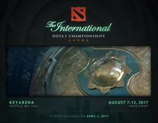 "Dota 2 TI7 ""The International 2017 "" FINALS EVENTS TICKETS"